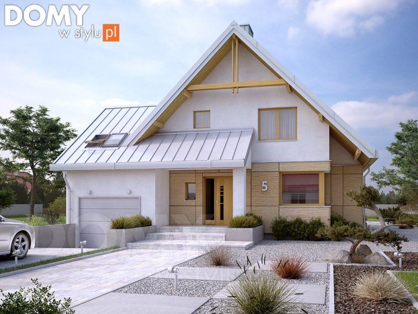 Projekty domów 2021 – dlaczego warto postawić na szkieletowy dom drewniany?